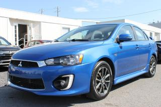Used 2016 Mitsubishi Lancer WC * BLUETOOTH, CAMÉRA , BANCS CHAUFFANTS * for sale in Boucherville, QC