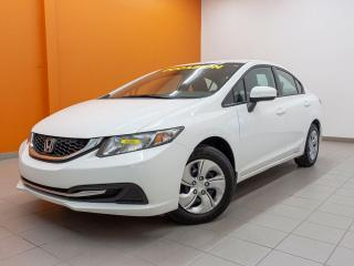 Used 2015 Honda Civic LX *SIEGES CHAUFF* CAMERA *BLUETOOTH* USB *PROMO for sale in Mirabel, QC