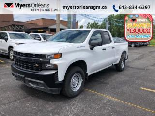 New 2020 Chevrolet Silverado 1500 Work Truck  - Bluetooth for sale in Orleans, ON