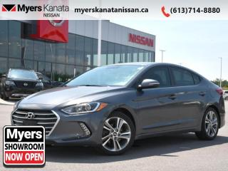 Used 2017 Hyundai Elantra GLS  - Sunroof -  Touch Screen - $112 B/W for sale in Kanata, ON