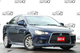Used 2014 Mitsubishi Lancer SE AUTOMATIC / LEATHER / ALLOYS for sale in Kitchener, ON
