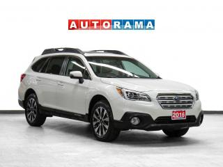 Used 2016 Subaru Outback 3.6R w/Limited Pkg AWD Nav Leather Sunroof Bcam for sale in Toronto, ON