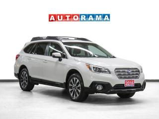 Used 2016 Subaru Outback Limited Pkg AWD Nav Leather Sunroof Bcam for sale in Toronto, ON