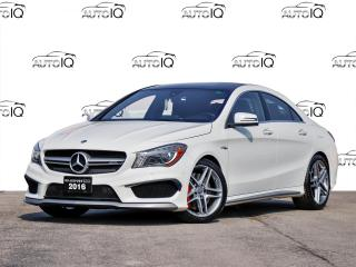 Used 2016 Mercedes-Benz AMG CLA AMG! AWD! SUNROOFR!! CERTIFIED for sale in Hamilton, ON