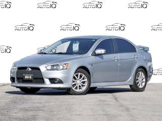 Used 2015 Mitsubishi Lancer SE ONE OWNER NO ACCIDENTS CERTIFIED for sale in Hamilton, ON