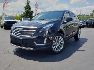 Used 2018 Cadillac XT5 Platinum - Navigation -  Cooled Seats for sale in Burlington, ON