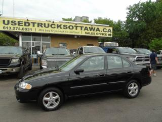 Used 2003 Nissan Sentra XE for sale in Ottawa, ON