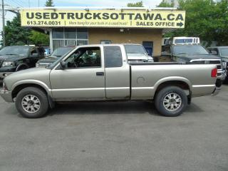 Used 2002 GMC Sonoma 4.3 V6 4X4 for sale in Ottawa, ON