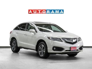 Used 2016 Acura RDX Elite Pkg AWD Navigation Leather Sunroof Bcam for sale in Toronto, ON