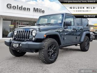 Used 2018 Jeep Wrangler JK Unlimited Sport for sale in North York, ON