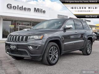 Used 2019 Jeep Grand Cherokee Limited Clean Carfax, Leather, Sunroof, Back-Up Camera for sale in North York, ON