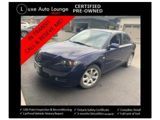 Used 2009 Mazda MAZDA3 GS - AUTO, SUNROOF, CRUISE, A/C, POWER GROUP! for sale in Orleans, ON