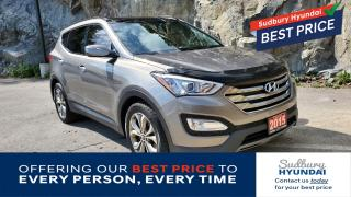 Used 2015 Hyundai Santa Fe Sport Fully Loaded! Saddle Leather! Panoramic Sunroof! for sale in Sudbury, ON