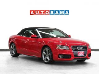 Used 2012 Audi A5 S-LINE Quattro leather for sale in Toronto, ON