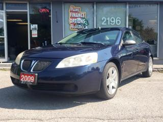 Used 2009 Pontiac G6 4DR SDN SE for sale in Bowmanville, ON