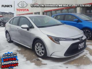 Used 2020 Toyota Corolla LE CVT  Toyota Extended Platinum Warranty   84 mo or 120,000 km's for sale in Steinbach, MB