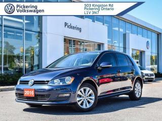 Used 2017 Volkswagen Golf COMFORTLINE! AUTO!! MOONROOF for sale in Pickering, ON