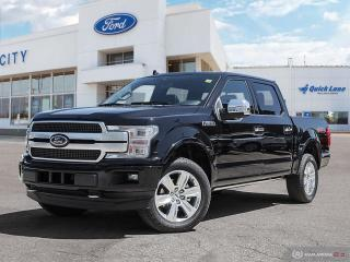 New 2020 Ford F-150 4x4 Platinum-145 for sale in Winnipeg, MB
