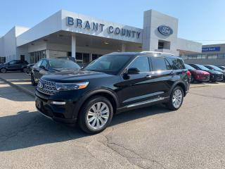 New 2020 Ford Explorer LIMITED for sale in Brantford, ON