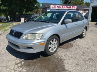 Used 2003 Mitsubishi Lancer Automatic/4 Cylinder/AS IS Special for sale in Scarborough, ON