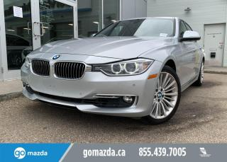 Used 2014 BMW 3 Series 328I - AWD, LEATHER, ROOF, PUSH BUTTON START, RIDES LIKE A DREAM! for sale in Edmonton, AB