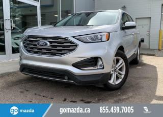 Used 2019 Ford Edge SEL - AWD, BACK UP, HEATED SEATS, REMOTE START, IN STUNNING SILVER! for sale in Edmonton, AB