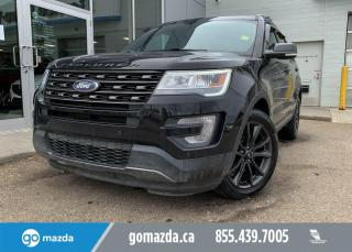 Used 2017 Ford Explorer XLT - AWD, PANO ROOF, DUAL CLIMATE, REMOTE START, GREAT VALUE! for sale in Edmonton, AB