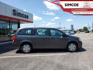 Used 2019 Dodge Grand Caravan Canada Value Package  - $135 B/W for sale in Simcoe, ON