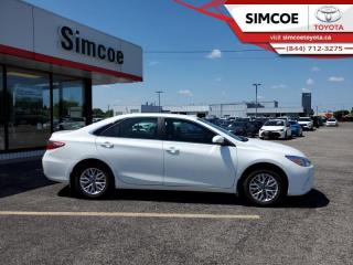 Used 2017 Toyota Camry LE  - Certified -  Bluetooth - $128 B/W for sale in Simcoe, ON