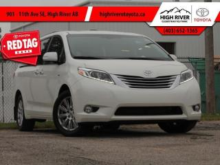 Used 2017 Toyota Sienna XLE AWD 7-Passenger  - Navigation for sale in High River, AB