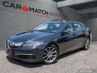 Used 2016 Acura TLX SH AWD / V6 Tech / NO ACCIDENTS for sale in Cambridge, ON