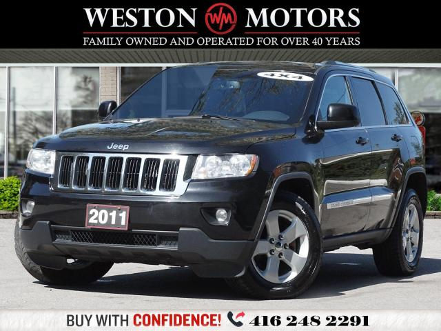 2011 Jeep Grand Cherokee LAREDO*4X4*LEATHER*REV CAM!!*