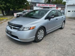 Used 2007 Honda Civic Automatic/4 Cylinder/AS IS Special for sale in Scarborough, ON