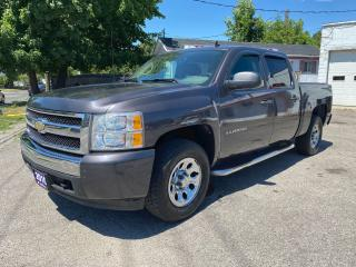 Used 2010 Chevrolet Silverado 1500 LS Cheyenne/Crew Cab/Automatic/4x4/Comes Certified for sale in Scarborough, ON