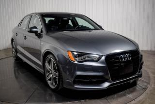 Used 2016 Audi A3 S LINE PROGRESSIV QUATTRO TOIT for sale in St-Hubert, QC