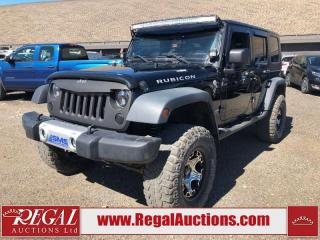 Used 2010 Jeep WRANGLER UNLIMITED RUBICON 4D UTILITY 4WD 3.8L for sale in Calgary, AB