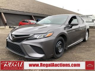 Used 2018 Toyota CAMRY SE 4D SEDAN 2.5L for sale in Calgary, AB