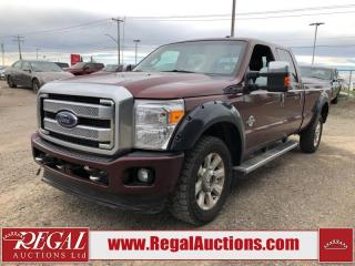 Used 2015 Ford F-350 S/D LARIAT 4D CREW CAB 4WD for sale in Calgary, AB
