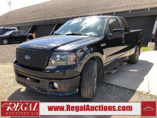 Used 2008 Ford F-150 FX2 SPORT SuperCab 2WD for sale in Calgary, AB