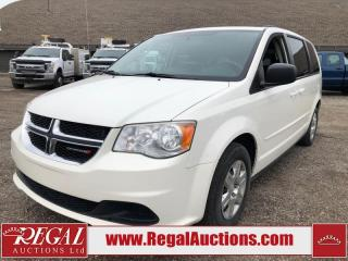 Used 2012 Dodge GRAND CARAVAN SE 4D WAGON 3.6L for sale in Calgary, AB