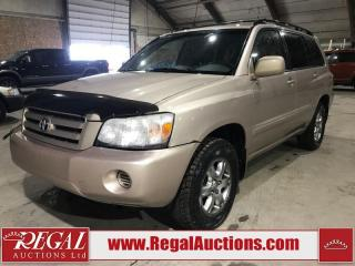 Used 2004 Toyota Highlander 4D Utility V6 for sale in Calgary, AB
