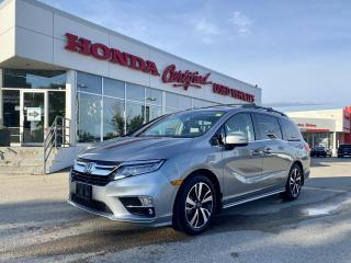 Used 2019 Honda Odyssey Touring LOCAL LEASE   LOADED for sale in Winnipeg, MB