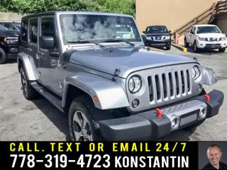 Used 2018 Jeep Wrangler Unlimited Base - Navigation for sale in Maple Ridge, BC