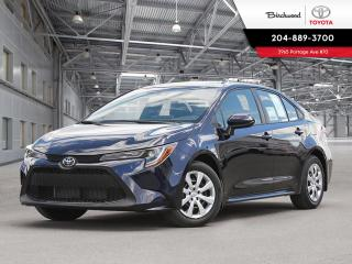 New 2020 Toyota Corolla LE LE STANDARD PKG for sale in Winnipeg, MB