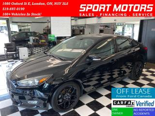 Used 2016 Ford Focus SE+Black Pack+Heated Seats & Steering+AccidentFree for sale in London, ON