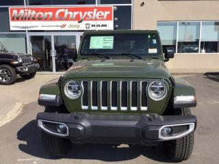 New 2020 Jeep Wrangler UNLIMITED SAHARA 4X4 / ECODIESEL for sale in Milton, ON