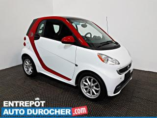 Used 2015 Smart fortwo electric drive Passion AIR CLIMATISÉ - Sièges Chauffants for sale in Laval, QC
