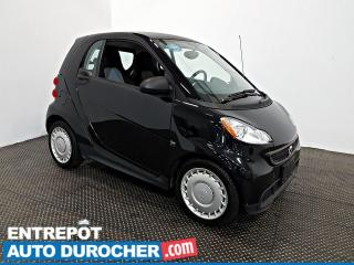 Used 2015 Smart fortwo PURE NAVIGATION - A/C - Sièges Chauffants for sale in Laval, QC