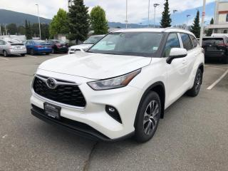 New 2020 Toyota Highlander XLE for sale in North Vancouver, BC