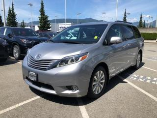 Used 2017 Toyota Sienna Limited AWD 7 Passenger, One Owner, Certified! for sale in North Vancouver, BC